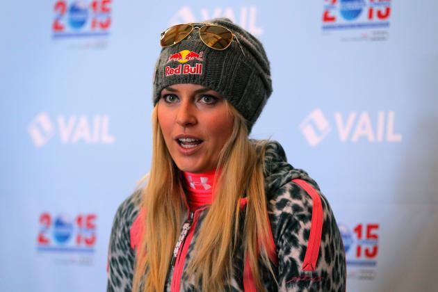Lindsey Vonn Comments on Sochi 2014 Following 'Fluke' Injury