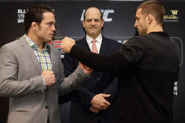 Report: Jake Ellenberger Injured, Possibly out of UFC Fight Night 34