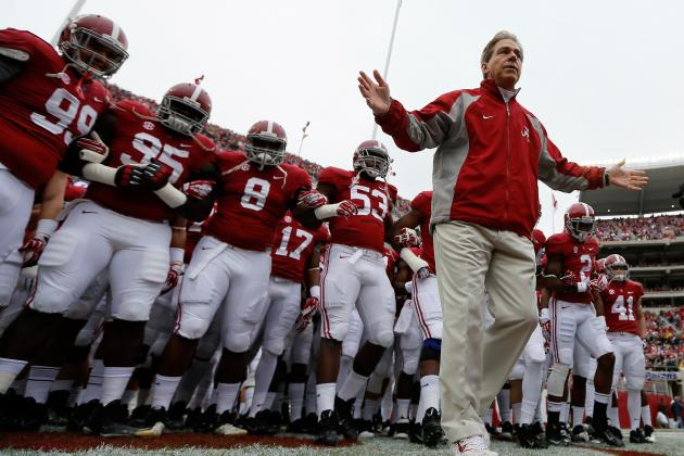 Alabama Doesn't Need to Change Anything to Win 2013 Iron Bowl