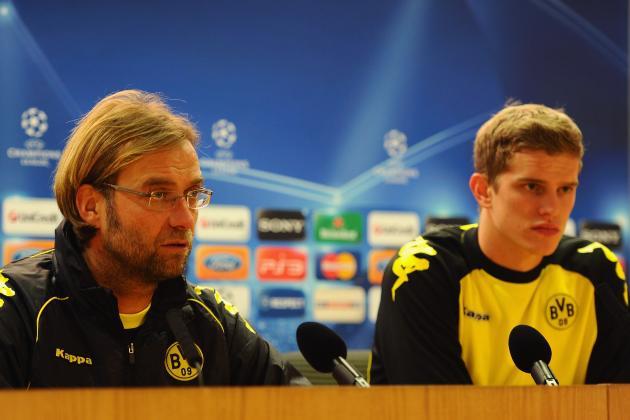 Sven Bender Bled on So Many Shirts Borussia Dortmund Had to Borrow One from Shop