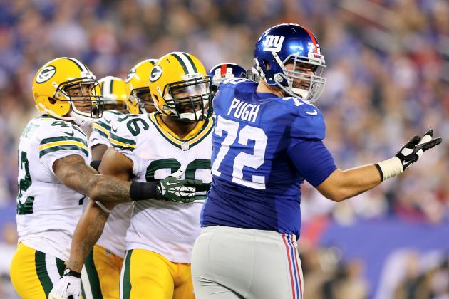 Justin Pugh Making Huge Strides in Rookie Season with New York Giants