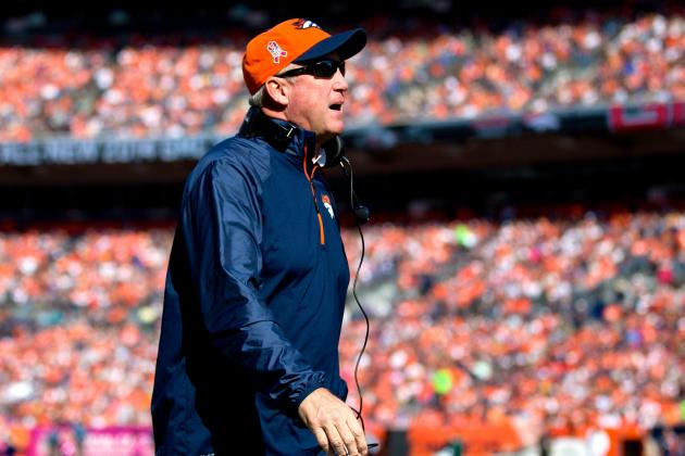 John Fox Returns to Denver Broncos After Week 13 Win vs. Chiefs