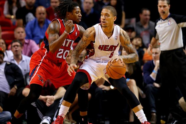Michael Beasley, Everybody's Buddy, Keeps Balling for Miami Heat