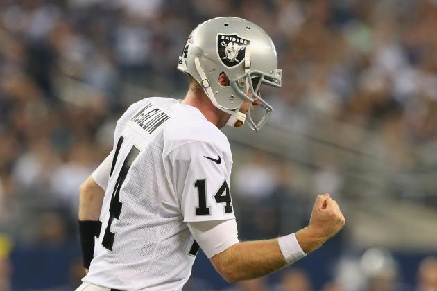 Raiders vs. Cowboys: Live Game Grades and Analysis for Oakland