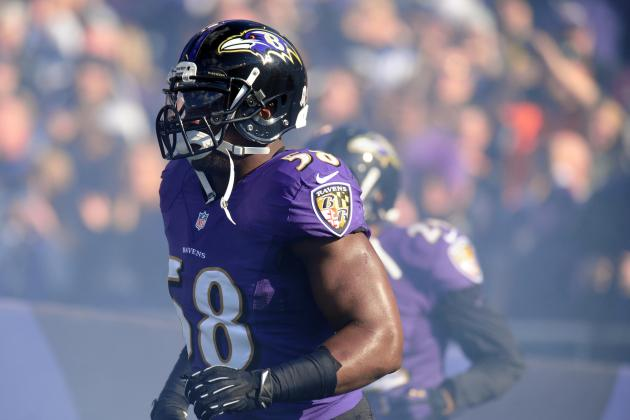 Elvis Dumervil Injury: Updates on Ravens LB's Ankle and Recovery
