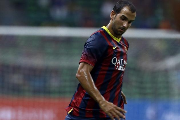 Martin Montoya Transfer from Barcelona Can Resolve Liverpool Full-Back Concerns