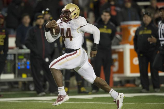 Breaking Down Boston College RB Andre Williams as a 2014 NFL Draft Prospect