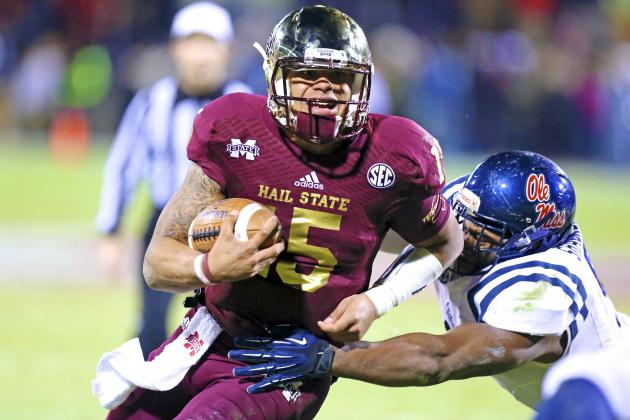 Dak Prescott and a Crazy Finish Highlight Mississippi State's Win over Ole Miss