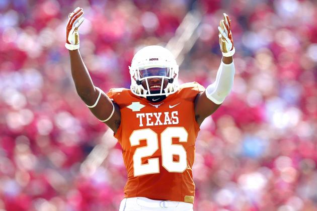 Big 12 Title Still Alive for Texas; Who Would Have Thought That Two Months Ago?
