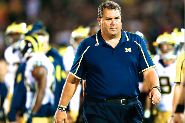 Brady Hoke Isn't on the Hot Seat, but Bad Loss to OSU Could Make Things Ugly