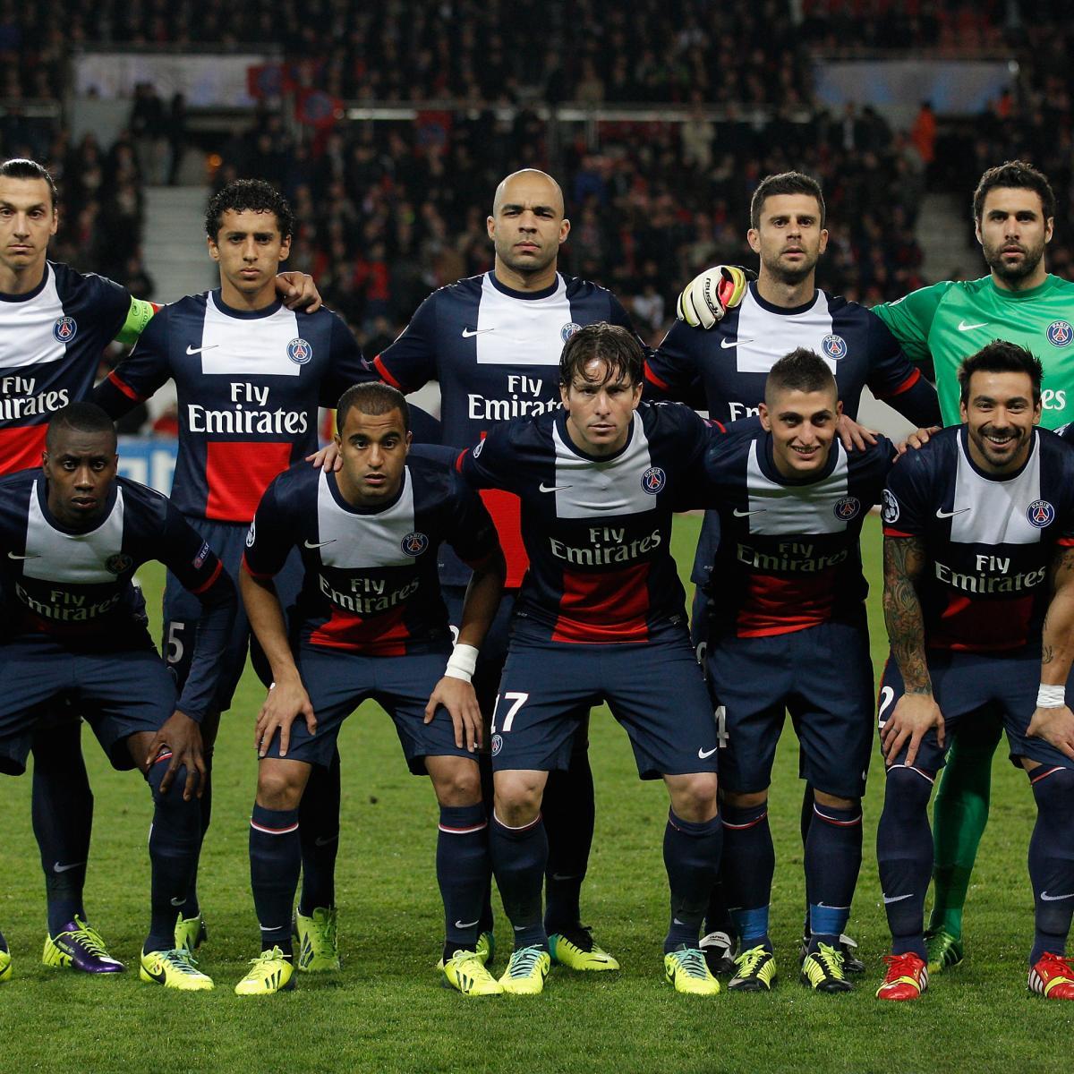 How Paris Saint-Germain Will Line Up Against Lyon