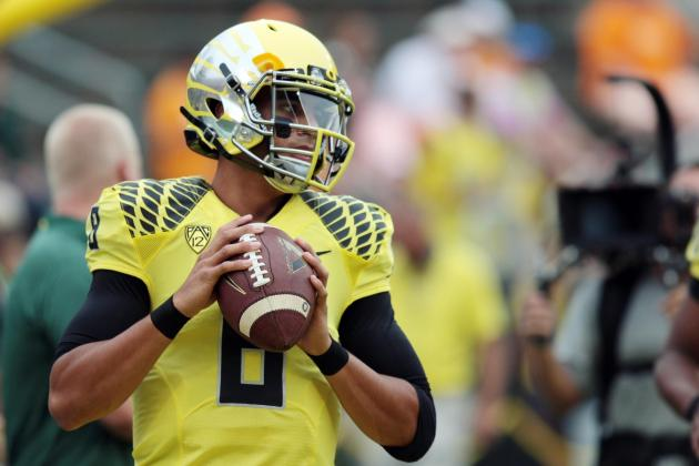 Oregon State vs. Oregon: What Marcus Mariota Must Do to Impress NFL Scouts