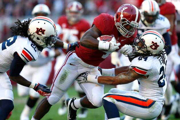 Iron Bowl 2013: Will Auburn or Alabama Dominate Ground Game More?