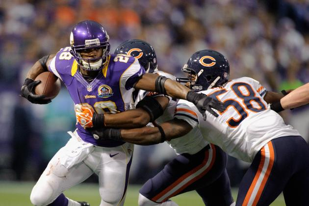How Can the Chicago Bears Slow Down Adrian Peterson and Vikings Run Game?