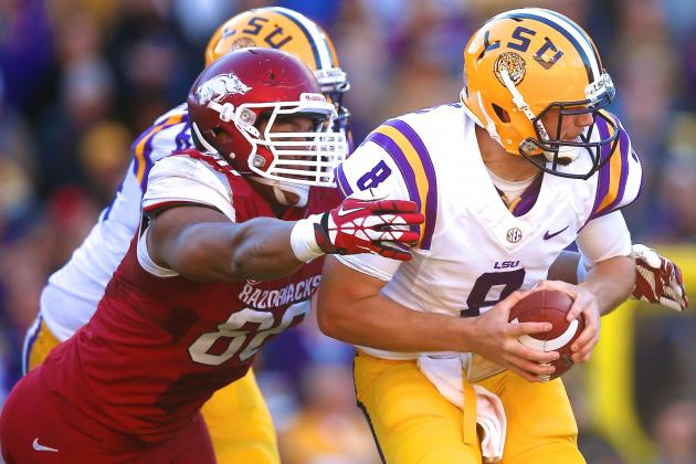 Arkansas vs. LSU: Live Score and Highlights