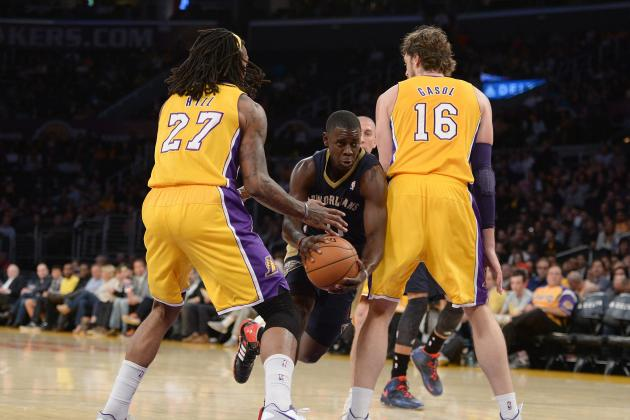 Why the Jordan Hill-Pau Gasol Frontcourt Works for the Los Angeles Lakers