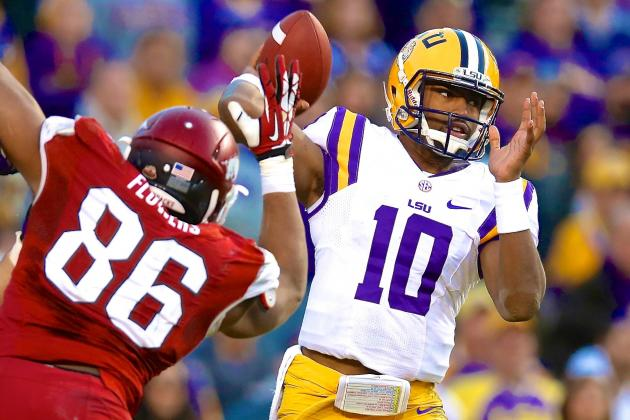 LSU QB Anthony Jennings' 99-Yard TD Drive vs. Arkansas Gives Tigers Hope in 2014
