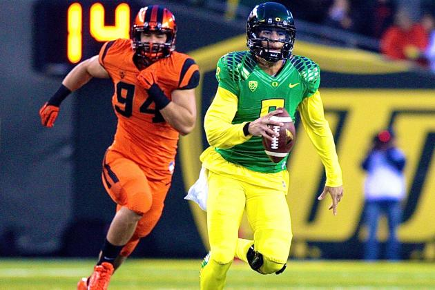 Oregon State vs. Oregon: Live Score and Highlights