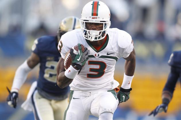 Miami vs. Pitt: Stacy Coley Proving Hurricanes Have Explosive Future on Offense