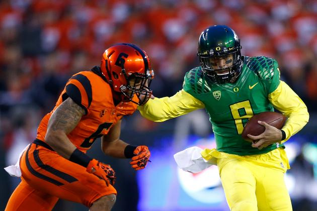Marcus Mariota's Updated 2014 NFL Draft Stock After Win over Oregon State