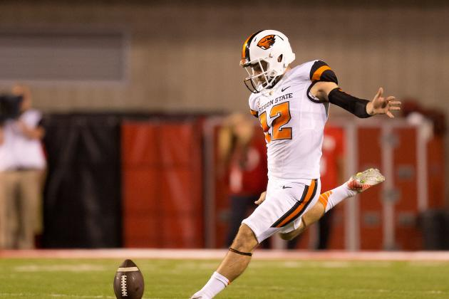 Oregon State Kicker Trevor Romaine Has College Football's Manliest Beard