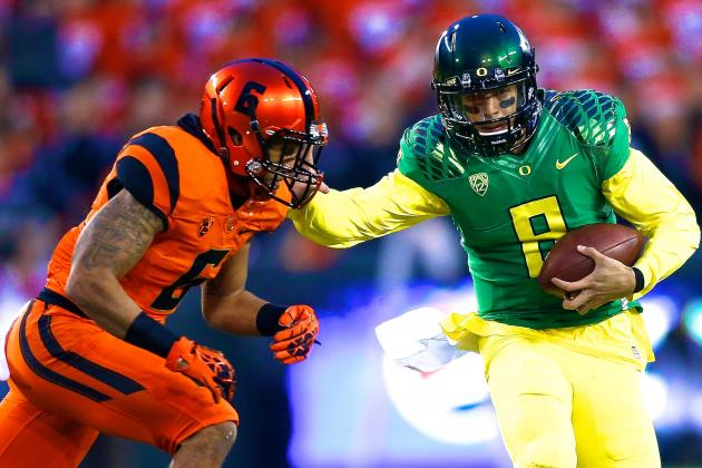 Oregon State vs. Oregon: Score, Grades and Analysis from Civil War 2013