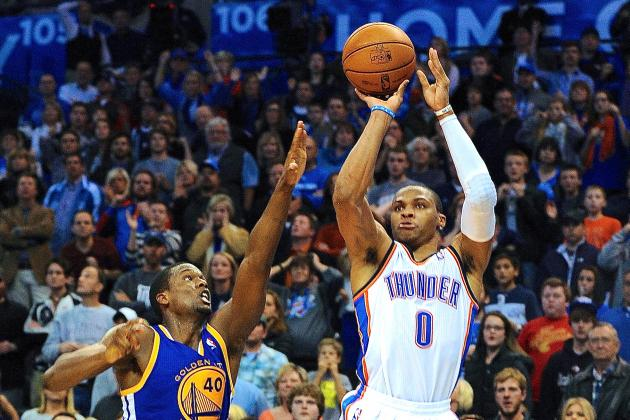 Russell Westbrook Hits Crazy Game-Winning 3 vs. Golden State Warriors