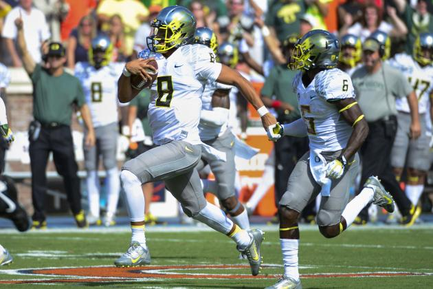 Are Oregon's De'Anthony Thomas and Marcus Mariota NFL-Ready?
