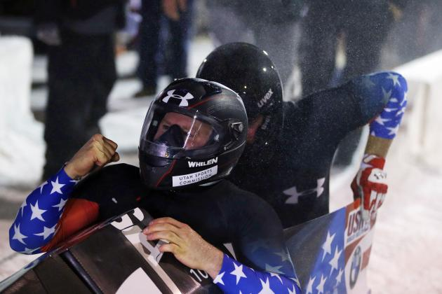 Holcomb, Langton Win World Cup Bobsled Race
