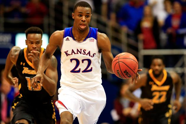 Andrew Wiggins' Path to Superstardom Hitting Early Roadblocks at Kansas
