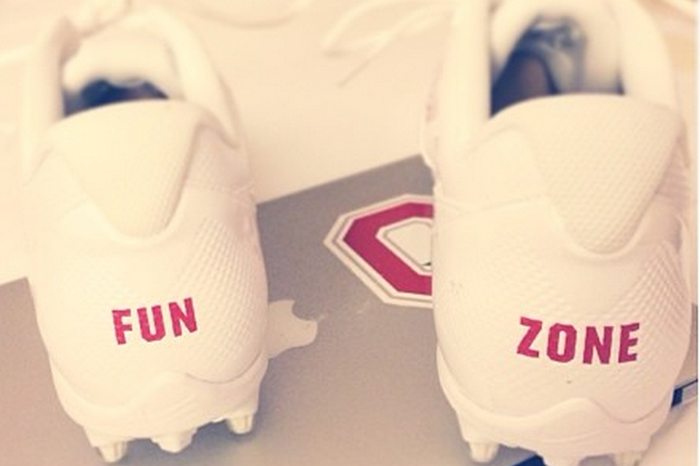 Ohio State's Braxton Miller Wears 'Fun Zone' Cleats for Game Against Michigan