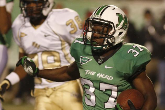 Marshall RB Grooms Suspended After Arrest