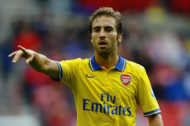 GIF: Mathieu Flamini Goal Puts Arsenal 2-0 Up Against Cardiff