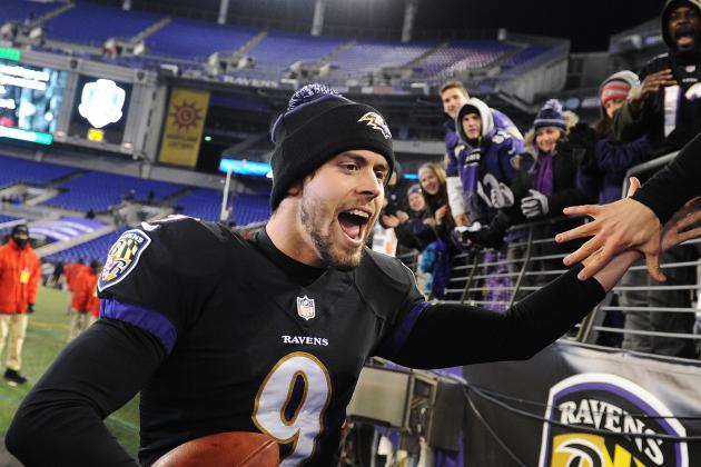 Justin Tucker Hasn't Missed Since September, but Try Telling Him That