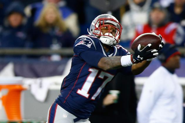 Report: Aaron Dobson Sprained His Foot