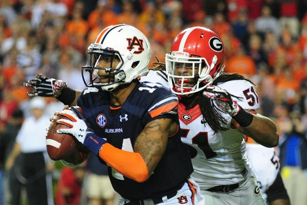 Alabama vs. Auburn Iron Bowl 2013: Live Game Grades, Analysis for the Tigers