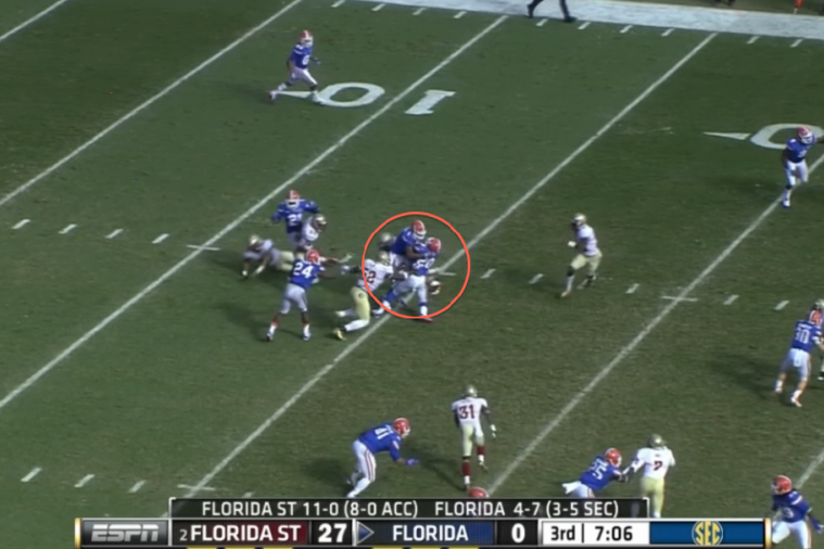 Did Florida Gators Players Block Each Other Once Again?
