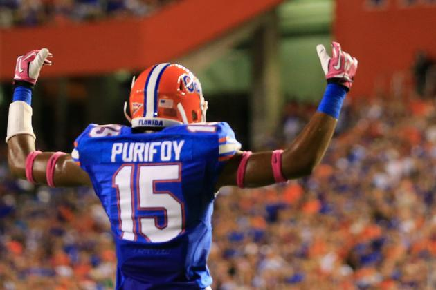 Florida Cornerback Loucheiz Purifoy to Enter NFL Draft