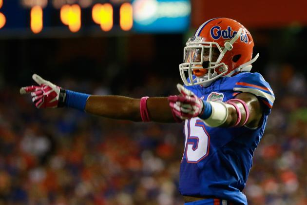 Florida CB Loucheiz Purifoy Will Enter 2014 NFL Draft