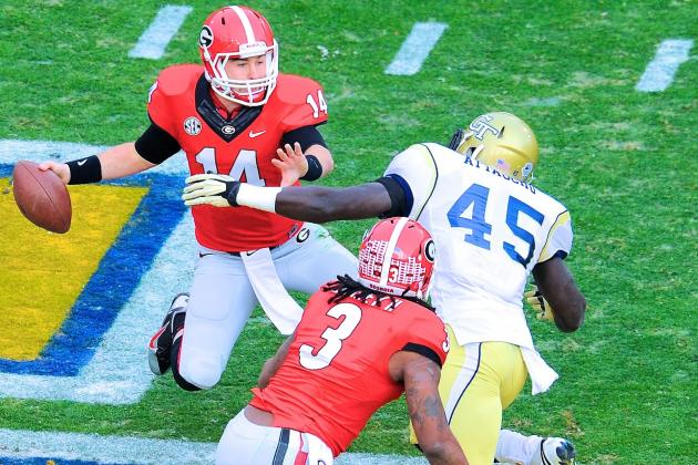 Georgia vs. Georgia Tech: Live Score and Highlights