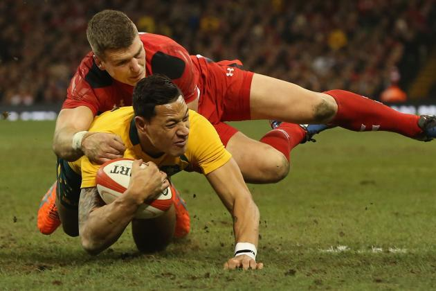 George North, Richard Hibbard's Huge Hits for Wales Don't Stop Australia Try