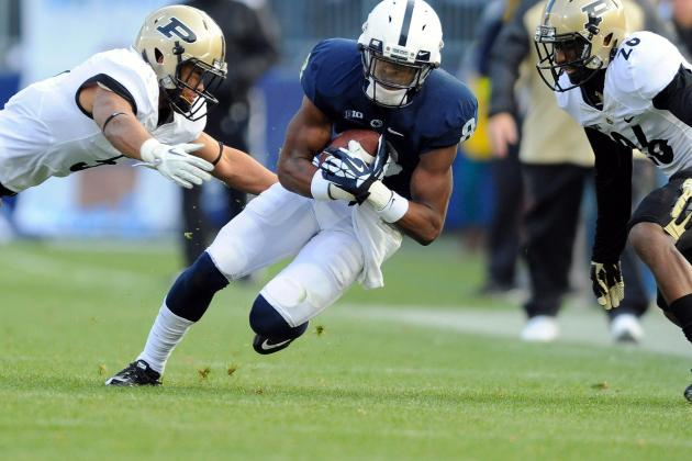 Robinson Sets PSU Record with 8th 100-Yd Game