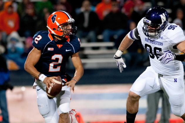 Northwestern Closes with 37-34 Win over Illinois