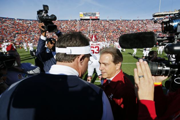 Alabama vs. Auburn Iron Bowl 2013: Live Game Grades, Analysis for the Tide