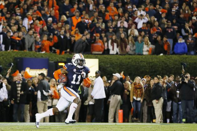Chris Davis Ruins Alabama's Reign with Game-Winning Return in Iron Bowl