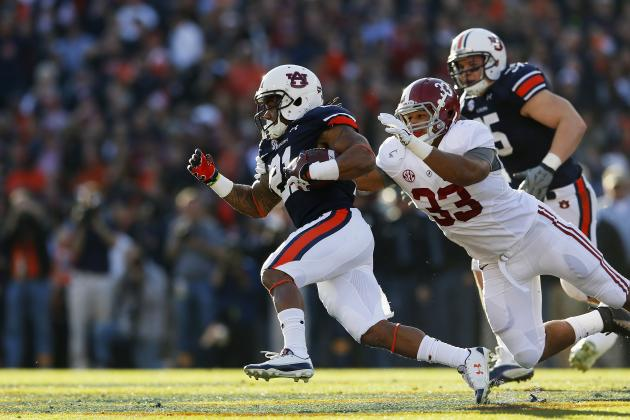 Tre Mason Establishes Elite Status During Insane Win over Alabama