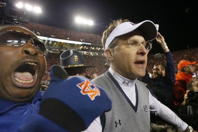 Twitter Explodes as Auburn Upsets Alabama in Wild Iron Bowl Finish