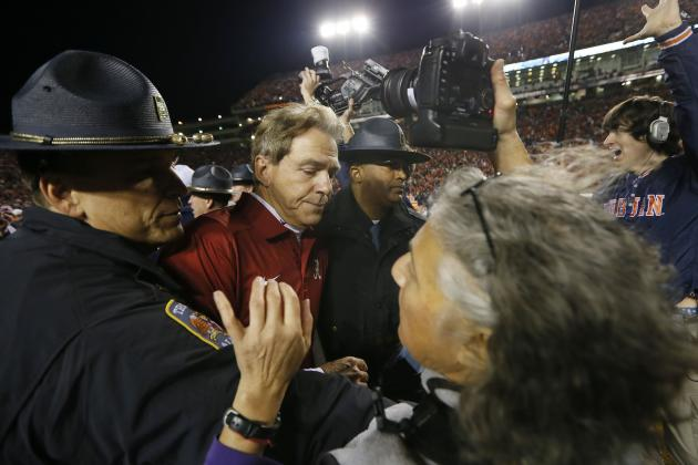 Iron Bowl 2013: It's Only Fitting Spread Offense Would Ruin Nick Saban's Dynasty