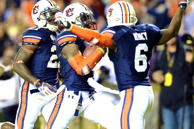 Alabama vs. Auburn: Face It, Tigers Are Just a Team of Destiny in 2013