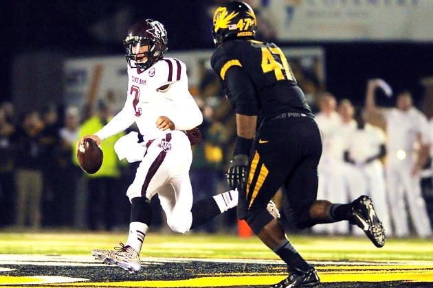 Texas A&M vs. Missouri: Live Score and Highlights